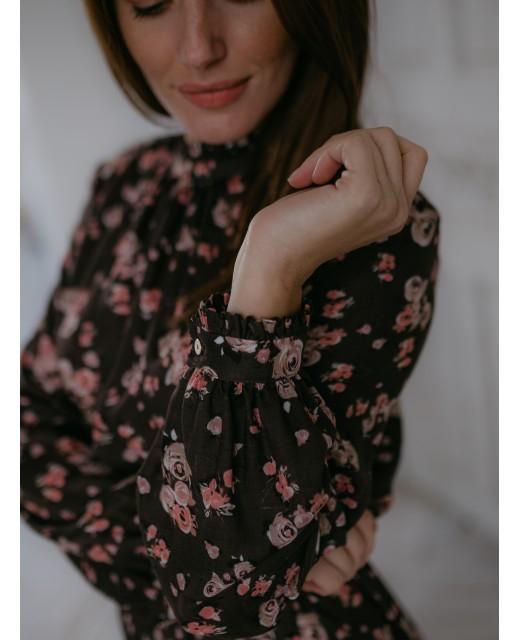 """Платье """"Chocolate e rose"""""""