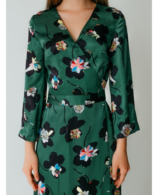 "Платье-запах ""Verde"""