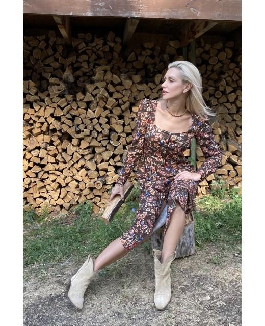 "Платье ""Fiori di autunno"""