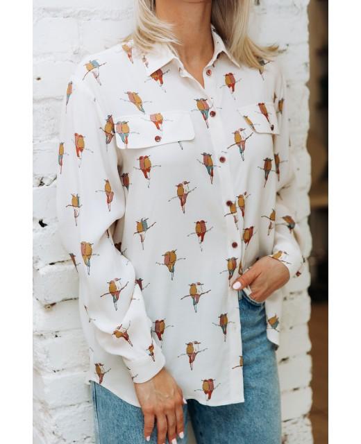 """Рубашка """"Uccellini"""""""